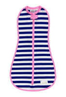 Navy Stripe Girl